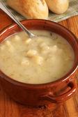 Zuppa di porri e patate — Foto Stock