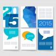 Vector brochure design templates collection. Applications and Infographic Concept. Flyer, Brochure Design Templates set. Modern flat design icons for mobile or smartphone. — Stock Vector #59515247