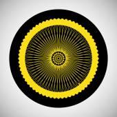 Bicycle Wheel Icon — Cтоковый вектор