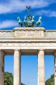Quadriga of the Brandenburg Gate. Berlin, Germany — Stock Photo