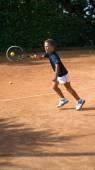 Tenisová škola — Stock fotografie