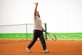 Tennis school — Stock Photo