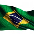 Brazil National Flag — Stock Photo #51878177