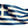 Greece National Flag — Stock Photo #51878273
