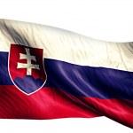 Slovakia National Flag — Stock Photo