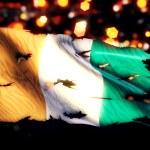 Cote D'Ivoire National Flag — Stock Photo #51879693