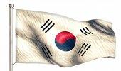 South Korea National Flag — Stock Photo