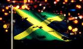 Jamaica National Flag — Stock Photo
