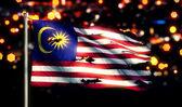 Malaysia National Flag — Stock Photo