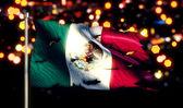 национальный флаг мексики — Стоковое фото
