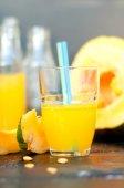 Pumpkin juice — Stock Photo