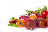 Closeup of tomatoes — Stock Photo