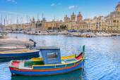Docyard Creek in Vittoriosa Valletta — Stock Photo