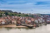 Whitby in England — Stock Photo