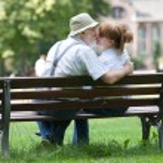 Senior couple in love — Stock Photo #77296468