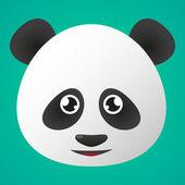 Panda avatar — Stock Vector