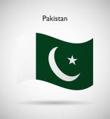 巴基斯坦国旗 — 图库矢量图片