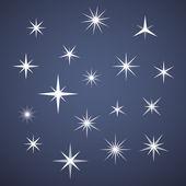 Vector sparkles — Stock Vector