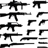 Weapon — Stock Vector