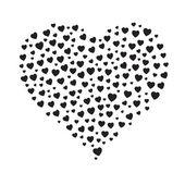 El corazón — Vector de stock
