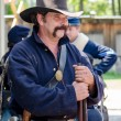 Civil war union soldier — Stock Photo #57730361