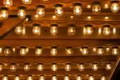 Many light bulbs shining bright — Стоковое фото