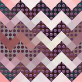 Chevron geometric pattern. — Stockvector