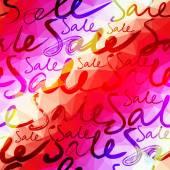 продажа надпись прозрачности на фоне геометрических. — Cтоковый вектор