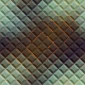 Abstract matrix pattern on geometric background. — Vetor de Stock