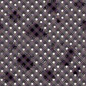 Holes on mesh. — Stockvector