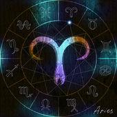 Aries symbol — Stock Vector