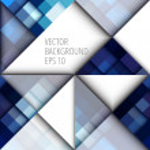 Blue pixels background — Stock Vector #63977307