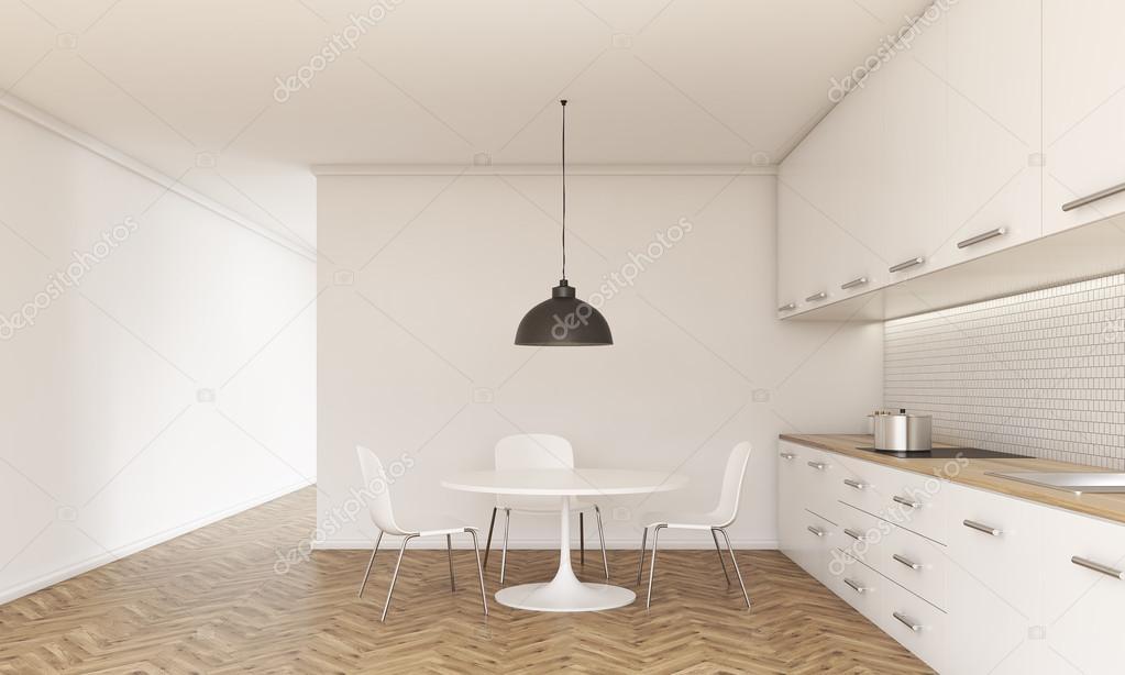 Keuken interieur voorzijde — Stockfoto © denisismagilov #115327880