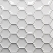 White honeycomb — Stock Photo