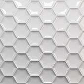 Белый Сота — Стоковое фото