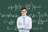 Mathematic formula — Stock Photo