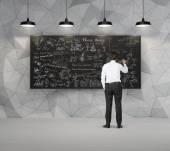 Rysunek biznes biznesmen koncepcja — Zdjęcie stockowe