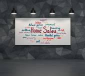 Home sales concept — Foto Stock
