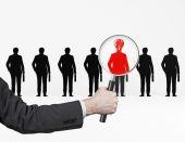Employer search — Zdjęcie stockowe