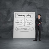 Plan monetary policy — Stock Photo