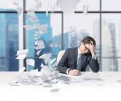 Man working — Stock Photo