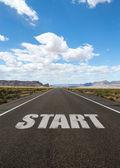 Start — Stock Photo