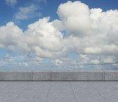 Panorama of sky — Stock Photo