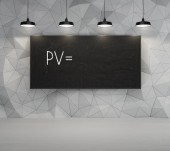 PV symbol — Stock Photo