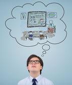 Education in academy — Stockfoto