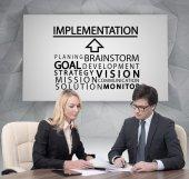Implementation concept — Stock Photo