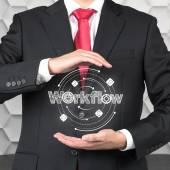 Workflow — Stock Photo