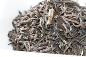 Close up of black tea leaves — Stock Photo