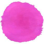 Aquarela de escova-de-rosa — Vetor de Stock