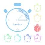 Timer clock — Stock Vector #55549769